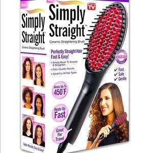 Simply straight hair straightener, new